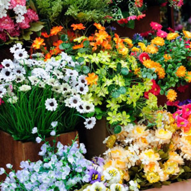 Olejek zapachowy - Zapach kwiaciarni - do produkcji świec, mydła, kremów, balsamów, toników i innych kosmetyków