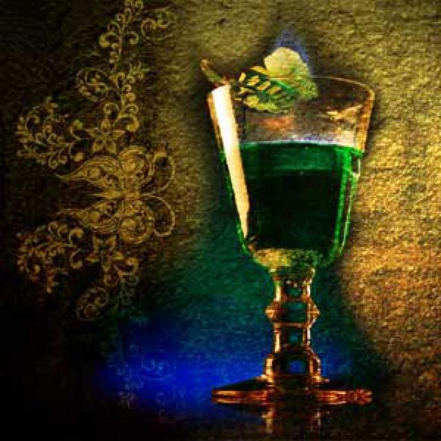 Olejek zapachowy - Absynt - do produkcji świec, mydła, kremów, balsamów, toników i innych kosmetyków