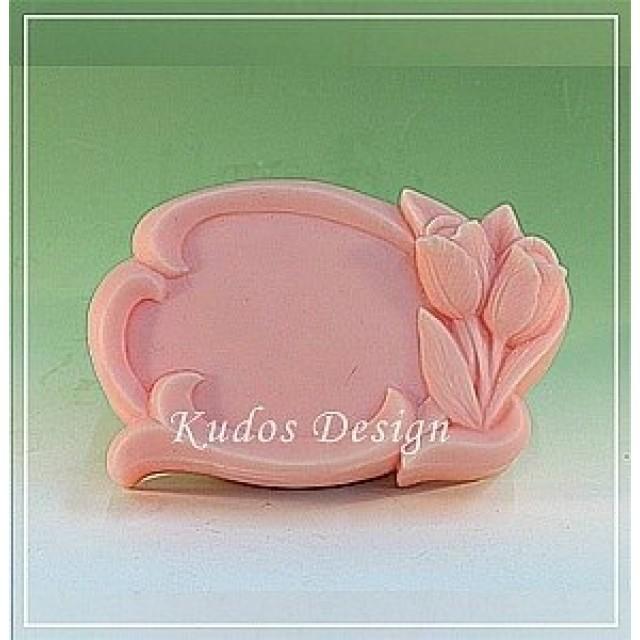 Forma silikonowa - Ramka - do wyrobu mydła, świec i odlewów
