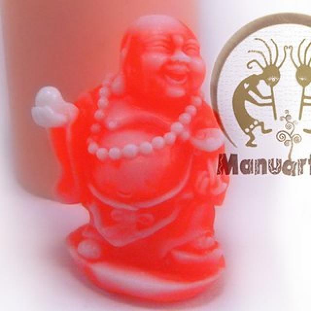 Forma silikonowa - Budda z kulą 3D - do wyrobu mydła, świec i odlewów