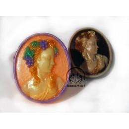 Forma silikonowa - Winogronowa panna - do wyrobu mydła, świec i odlewów