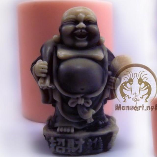 Forma silikonowa - Budda z workiem 3D - do wyrobu mydła, świec i odlewów