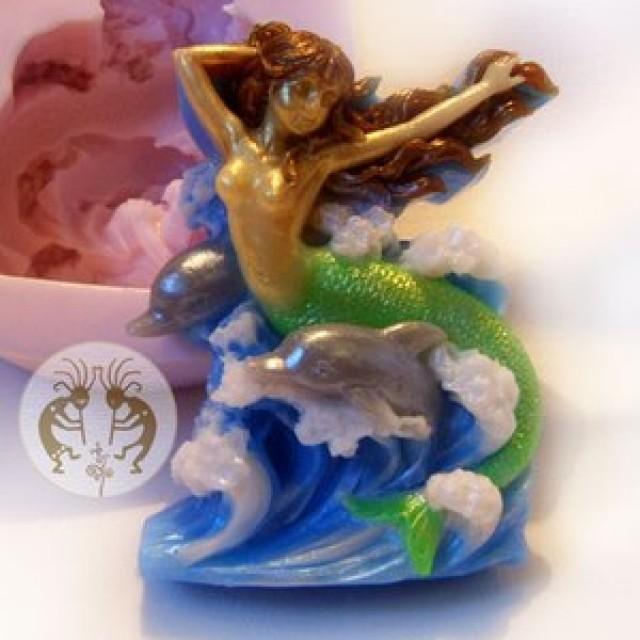 Forma silikonowa - Rusałka Afrodyta - do wyrobu mydła, świec i odlewów