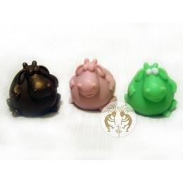 Forma silikonowa - Żyrafa 3D - do wyrobu mydła, świec i odlewów