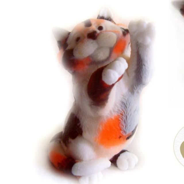 Forma silikonowa - Murczaszczij kot 3D - do wyrobu mydła, świec i odlewów