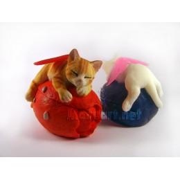 Forma silikonowa - Kot-wróżka 3D - do wyrobu mydła, świec i odlewów
