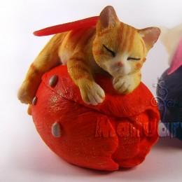 Kot-wróżka 3D