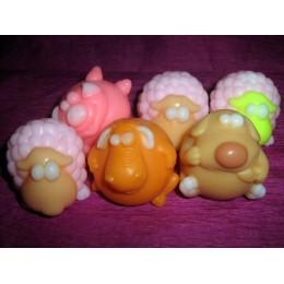 Forma silikonowa - Baranek mały - do wyrobu mydła, świec i odlewów