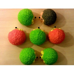 Forma silikonowa - Jeż 3D - do wyrobu mydła, świec i odlewów
