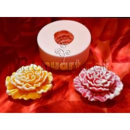 Forma silikonowa - Goździk 3D - do wyrobu mydła, świec i odlewów