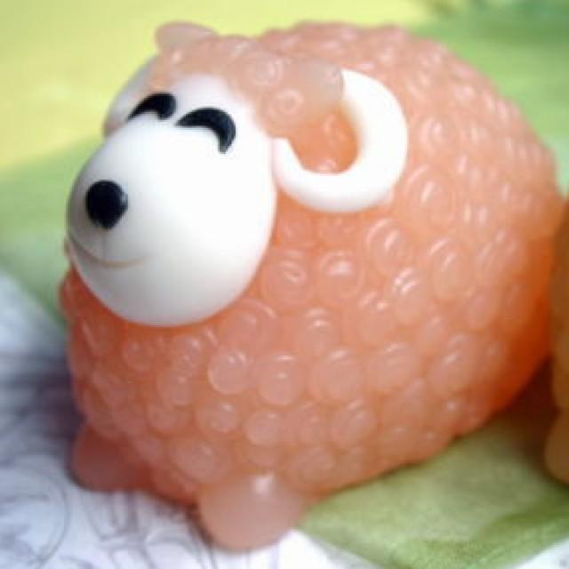 Forma silikonowa - Baran w lokach duży 3D - do wyrobu mydła, świec i odlewów