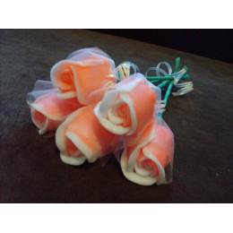 Forma silikonowa - Pączek róży - do wyrobu mydła, świec i odlewów