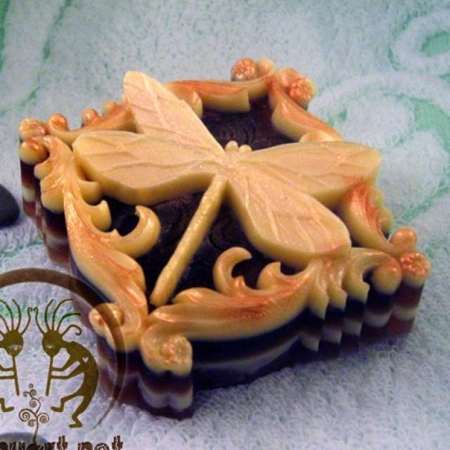 Forma silikonowa - Idealna ważka - do wyrobu mydła, świec i odlewów