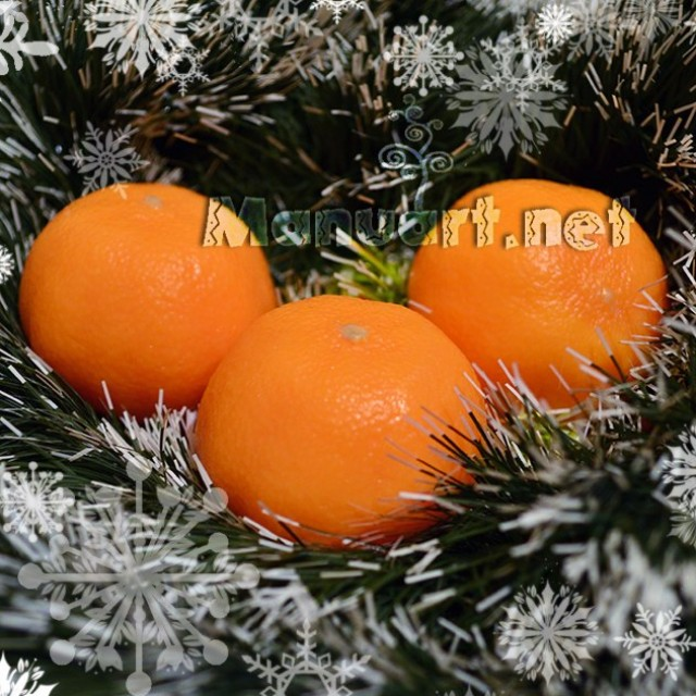 Forma silikonowa - Mandarinka 3D - do wyrobu mydła, świec i odlewów