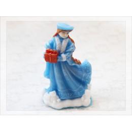 Forma silikonowa - Śnieżna Dziewica 3D - do wyrobu mydła, świec i odlewów