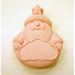 Santa z tabliczką