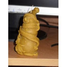 Forma silikonowa - Bałwanek z miotłą - do wyrobu mydła, świec i odlewów