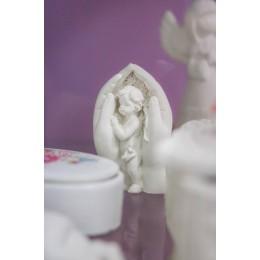 Forma silikonowa - Anioł w rękach 3D - do wyrobu mydła, świec i odlewów