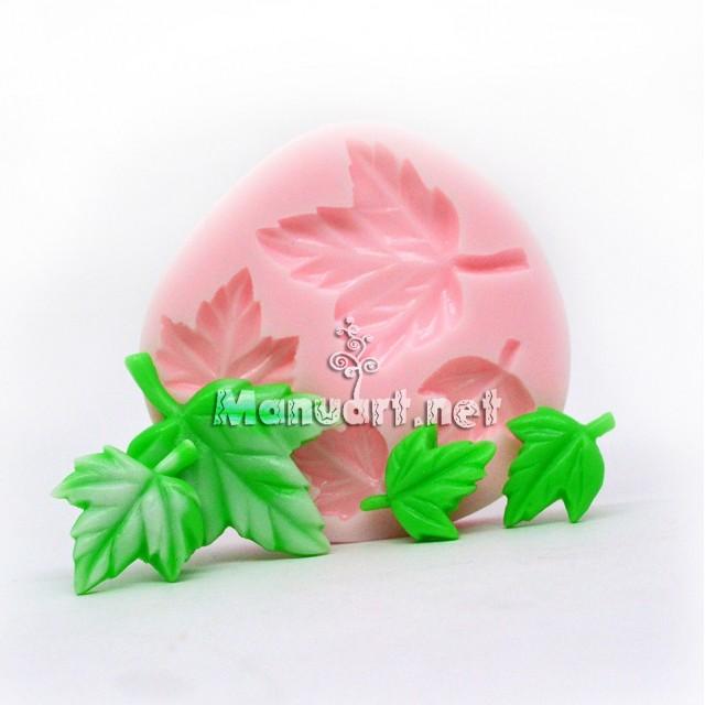 Forma silikonowa - Mołd listeczki duże - do wyrobu mydła, świec i odlewów