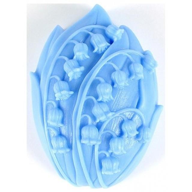 Forma silikonowa - Konwalie - do wyrobu mydła, świec i odlewów
