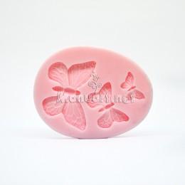 Forma silikonowa - Mołd motyle - do wyrobu mydła, świec i odlewów