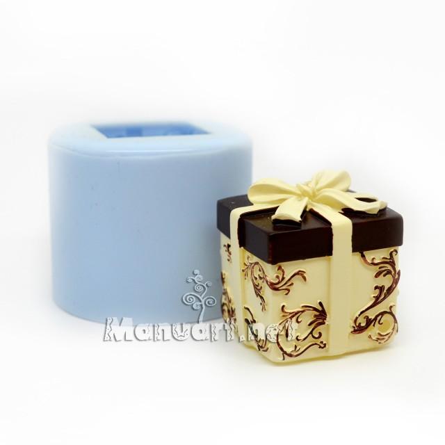 Forma silikonowa - Prezencik 3D - do wyrobu mydła, świec i odlewów