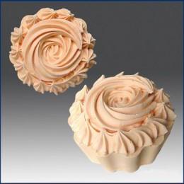 Muffinka z kremowym szczytem 3D
