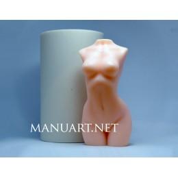 Forma silikonowa - Naga kobieta - do wyrobu mydła, świec i odlewów