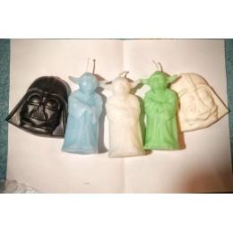 Forma silikonowa - Darth Vader Gwiezdne wojny - do wyrobu mydła, świec i odlewów
