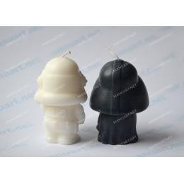 Forma silikonowa - Klon Gwiezdne wojny 3D - do wyrobu mydła, świec i odlewów