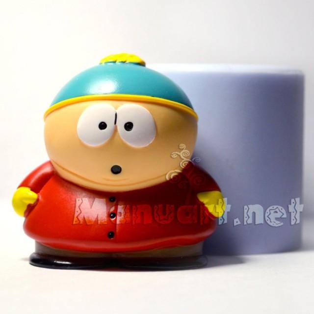 Forma silikonowa - South Park Eric Cartman - do wyrobu mydła, świec i odlewów