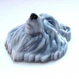 Forma silikonowa - Wilcza głowa - do wyrobu mydła, świec i odlewów