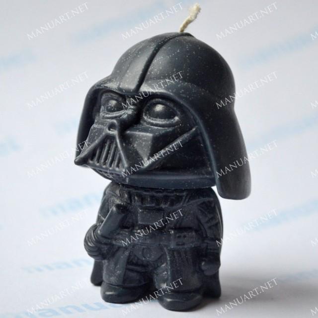 Forma silikonowa - Darth Vader Gwiezdne wojny 3D - do wyrobu mydła, świec i odlewów