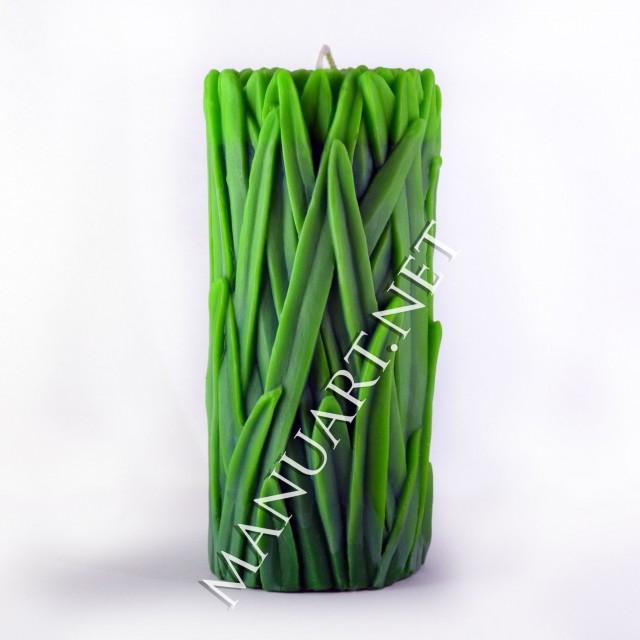 Forma silikonowa - Trawa - do wyrobu mydła, świec i odlewów