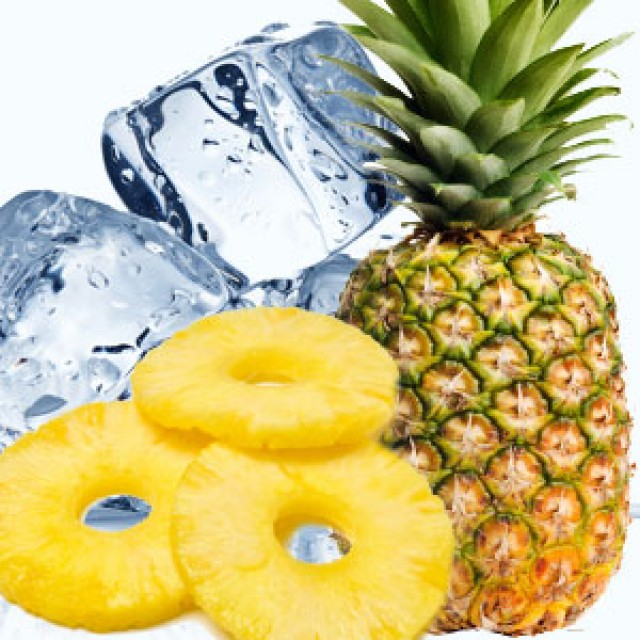 Olejek zapachowy - Iced Pineapple - do produkcji świec, mydła, kremów, balsamów, toników i innych kosmetyków