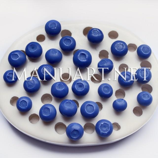Forma silikonowa - Borówka 3D - do wyrobu mydła, świec i odlewów