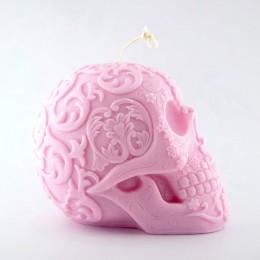 Forma silikonowa - Duża meksykańska czaszka 3D - do wyrobu mydła, świec i odlewów
