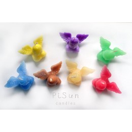 Forma silikonowa - Mały penis ze skrzydłami - do wyrobu mydła, świec i odlewów