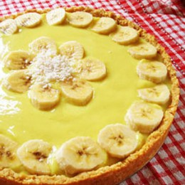 Banana Cream Pie (ciasto z kremem bananowym)