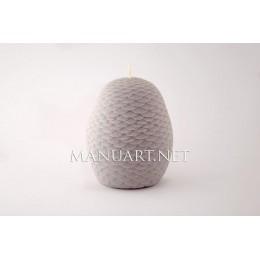 Forma silikonowa - SOWA №2 3D - do wyrobu mydła, świec i odlewów