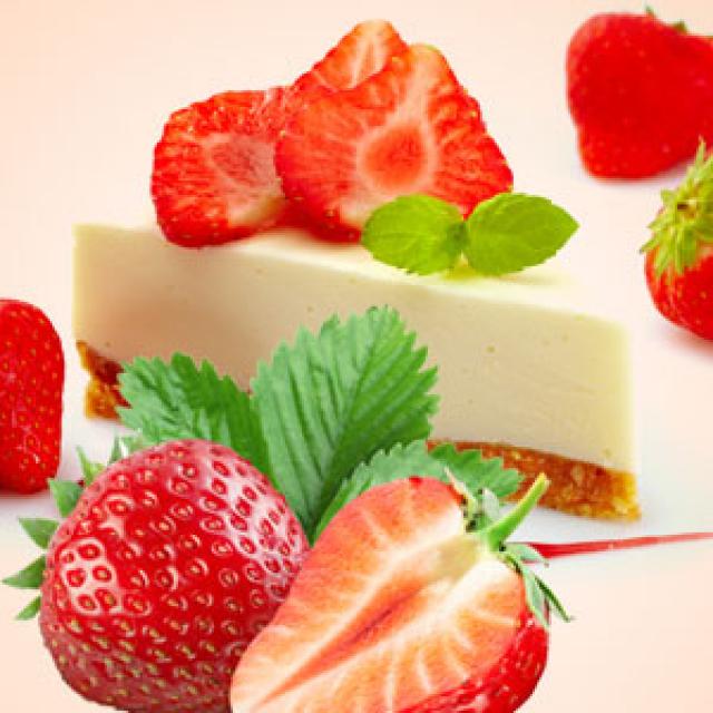 Olejek zapachowy - Strawberry Cheesecake 30 ml (Sernik truskawkowy) - do produkcji świec, mydła, kremów, balsamów, toników i innych kosmetyków