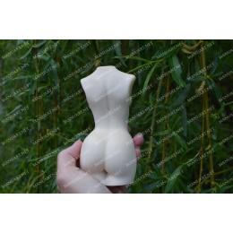 Forma silikonowa - Duży Kobiecy tułów 3D - do wyrobu mydła, świec i odlewów