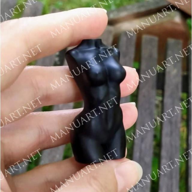 Forma silikonowa - Tors kobiety MINI - do wyrobu mydła, świec i odlewów