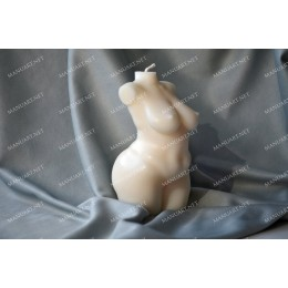 Forma silikonowa - Pełna kobieta 3D - do wyrobu mydła, świec i odlewów