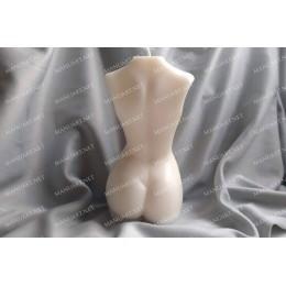 Forma silikonowa - Duży tułów kobiety w ciąży - do wyrobu mydła, świec i odlewów