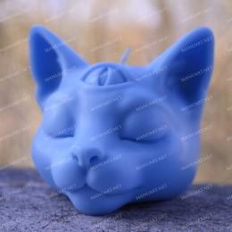 ''Budda'' głowa kota 3D
