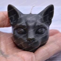 Mała głowa kota 3D