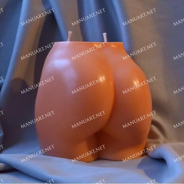 Forma silikonowa - Kobiecy tył duży 3D - do wyrobu mydła, świec i odlewów