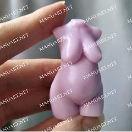 Nowy mini tułów kobiety w ciąży 3D