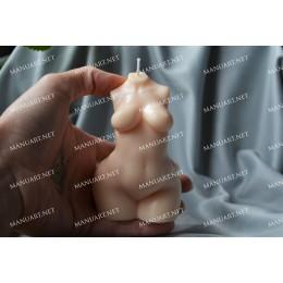 Forma silikonowa - Tors damski plus size 3D - do wyrobu mydła, świec i odlewów